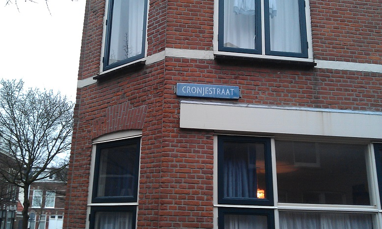 Cronjéstraat in Leiden