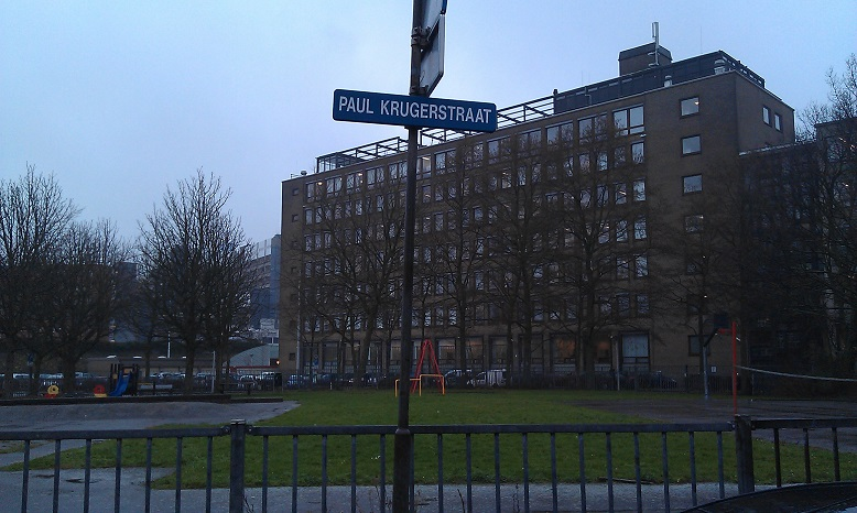 Paul Krugerstraat in Leiden
